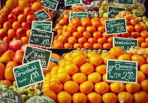 フレッシュなオレンジ