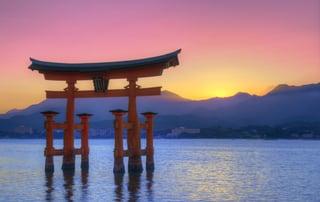 The Floating Otorii gate at Miyajima, Japan..jpeg