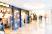 Unfocused background of Shopping mall-3