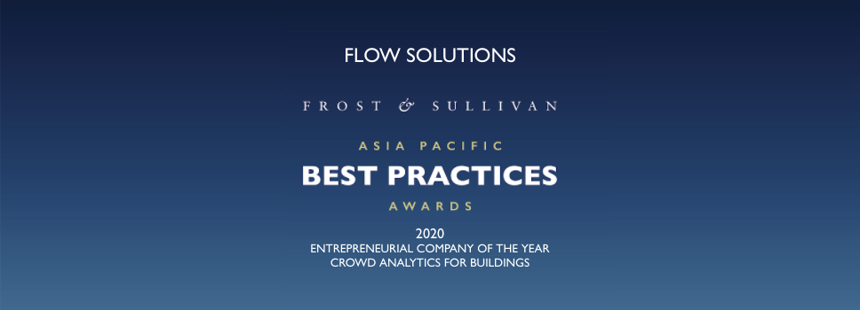 Flow Solutions has been selected as Best Practices Awards 2020 by Frost & Sullivan, a US-based consulting firm!!